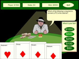 Rob the Mob - ICT quiz game